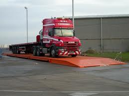מאזני גשר עיליים לשקילת משאיות